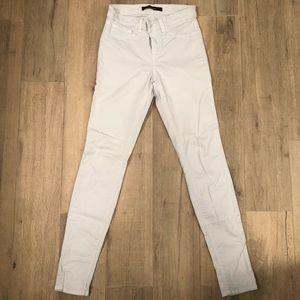 J Brand twill jeans in light blue